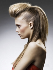 Fabulous Long Quiff Hair Style