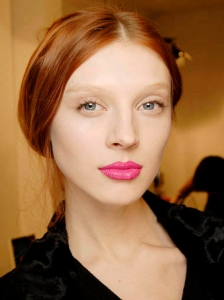 Glam Pink Lips Makeup Idea