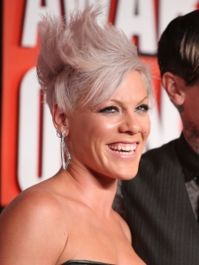 Pink's Hairstyle at the 2009 MTV VMAs