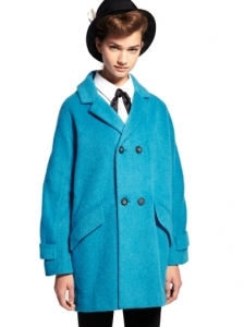 Premium Blue Car Coat
