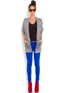 Primary Blue Skinny Jeans