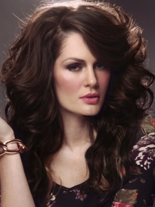 Long Voluminous Wavy Hair Style