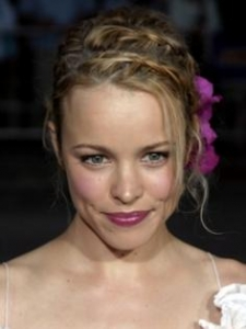 Rachel McAdams Updo with Braids