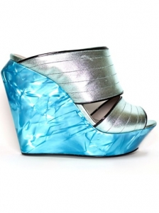 Raphael Young Habaki Blue Wedges