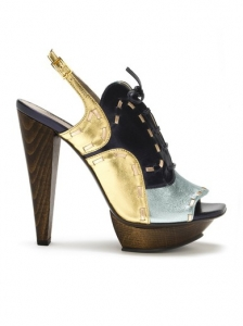 Raphael Young Tsuka Metallic Sandals