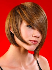 Flirty Medium Soft Layered Haircut