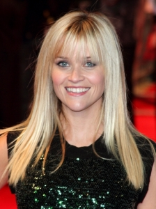 Reese Witherspoon Long Hair with Bangs