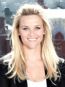 Reese Witherspoon Pinned Back Bangs