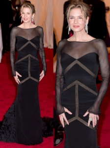 Renee Zellweger in Emilio Pucci Custom Dress