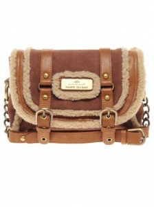 Shearling Cross Body Bag