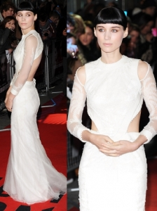 Rooney Mara in Givenchy Couture Gown