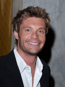 Ryan Seacrest Medium Messy Hairstyle