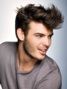 Chic Medium Gents Hair Style