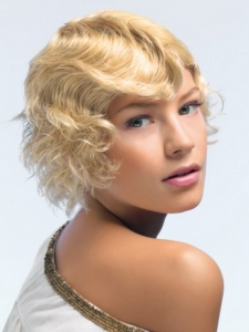 Medium Retro Waves Hair Styles
