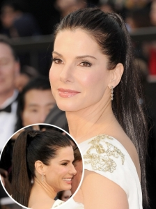 Sandra Bullock's Pony from the 2012 Oscars