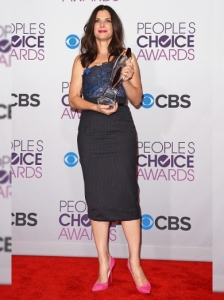 Sandra Bullock's Outfit at 2013 People's Choice Awards