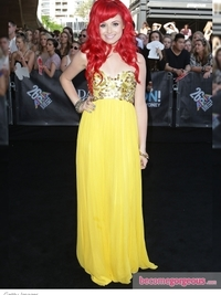Sarah De Bono at the 2012 ARIA Awards