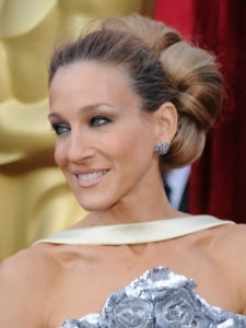 Sarah Jessica Parker Hairstyle at the 2010 Oscars