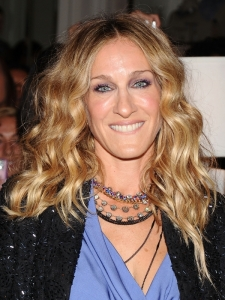 Sarah Jessica Parker Boho Curly Hairstyle