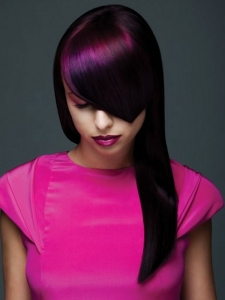 Gorgeous Punk Hair Color Idea