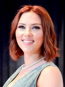 Scarlett Johansson New Red Hair Color