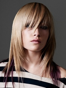 Long Heavy Layered Hair Style