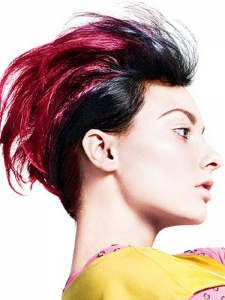 Bold Magenta Hair Color