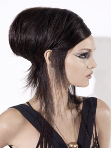On Trend Modern Updo Hair Style