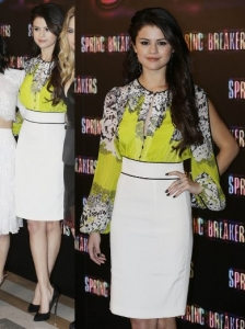 Selena Gomez in Blumarine Dress