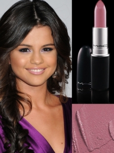 MAC Snob Lipstick on Selena Gomez