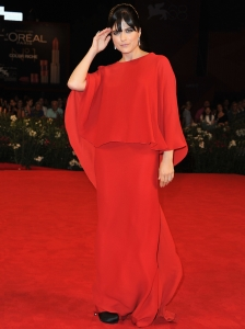 Selma Blair in Lanvin Red Gown