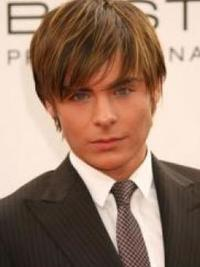 Zac Efron Hairstyle with Long Bangs