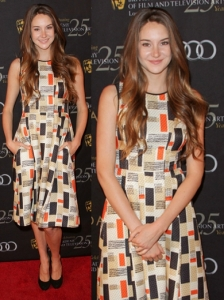 Shailene Woodley in Jason Wu Print Dress