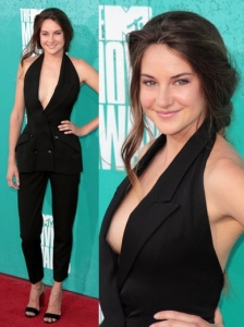 Shailene Woodley in Stella McCartney Jumpsuit