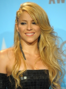 Shakira Hairstyle at the 2009 AMAs
