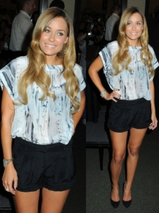 Lauren Conrad in Elizabeth and James Shorts