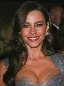 Sofia Vergara Soft Curly Hairstyle