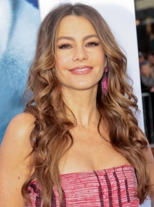 Sofia Vergara Long Curly Hairstyle