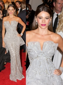 Sofia Vergara in Marchesa Dress
