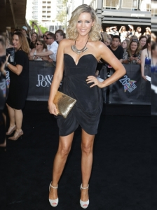 Sophie Falkiner at the 2012 ARIA Awards