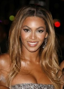 Beyonce's Long Wavy Hairstyle