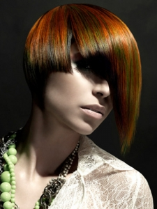 Chic Three-Tone Hair Color Idea