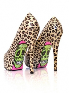 Take A Walk On The Wild Side Pumps