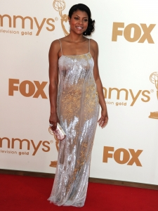 Taraji P Henson in Blumarine Beaded Gown
