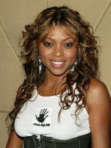 Taraji P Henson with Long Curly Hairstyle