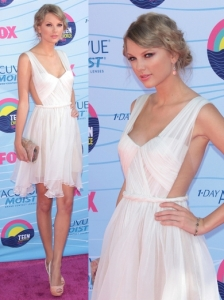 Taylor Swift in Maria Lucia Hohan Dress