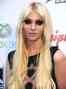 Taylor Momsen Extra Long Hair with Center Part
