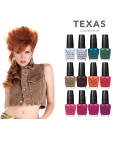 OPI Texas Nail Polish Collection