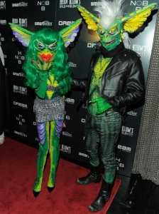 The Blonds in Gremlins Halloween Costumes