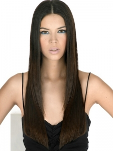 Super Straight Long Hairstyle Idea
